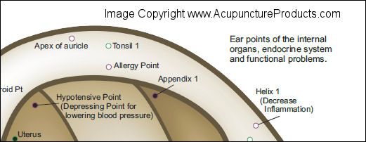 Chinese System of Auricular Ear Acupuncture
